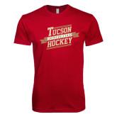 Next Level SoftStyle Cardinal T Shirt-Banner Design