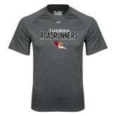 Under Armour Carbon Heather Tech Tee-Tucson Roadrunners Stacked