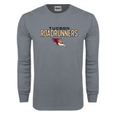 Charcoal Long Sleeve T Shirt-Tucson Roadrunners Stacked