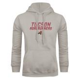 Khaki Gold Fleece Hoodie-Tuscon Roadrunners - Lines