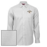 Red House White Diamond Dobby Long Sleeve Shirt-Tucson Roadrunners Stacked