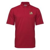 Cardinal Mini Stripe Polo-Badge Design