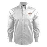Red House White Dobby Long Sleeve Shirt-Tucson Roadrunners Stacked