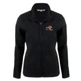 Ladies Black Softshell Jacket-Mascot