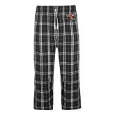 Black/Grey Flannel Pajama Pant-Mascot