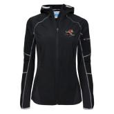 Columbia Ladies Sweet As Black Hooded Jacket-Mascot