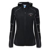 Columbia Ladies Sweet As Black Hooded Jacket-Tucson Roadrunners Stacked