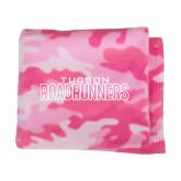 Pink Camo Blanket-Tucson Roadrunners