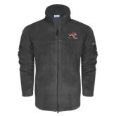 Columbia Full Zip Charcoal Fleece Jacket-Mascot