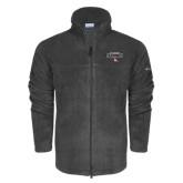Columbia Full Zip Charcoal Fleece Jacket-Tucson Roadrunners Stacked