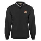 Black Executive Windshirt-Badge Design