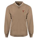 Khaki Executive Windshirt-Badge Design