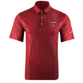 Nike Dri Fit Cardinal Embossed Polo-Tucson Roadrunners Stacked