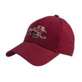 Cardinal Heavyweight Twill Pro Style Hat-Mascot