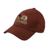Brown Heavyweight Twill Pro Style Hat-Badge Design
