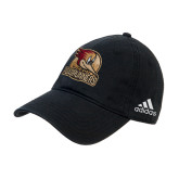 Adidas Black Slouch Unstructured Low Profile Hat-Badge Design