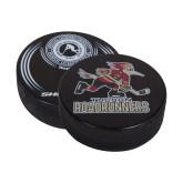 Black Slovakian Souvenir Puck-