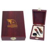 Tuscany Wine Set-Badge Design Engraved