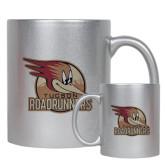 Full Color Silver Metallic Mug 11oz-Badge Design