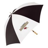 62 Inch Black/White Umbrella-Tucson Roadrunners Stacked
