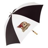 62 Inch Black/White Umbrella-Badge Design