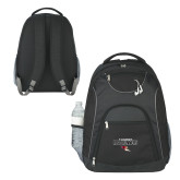 The Ultimate Black Computer Backpack-Tucson Roadrunners Stacked