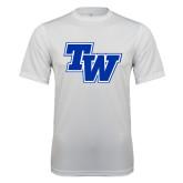 Syntrel Performance White Tee-TW