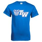 Royal Blue T Shirt-Official Logo