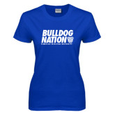 Ladies Royal T Shirt-Bulldog Nation