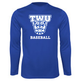 Performance Royal Longsleeve Shirt-Baseball