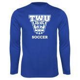 Performance Royal Longsleeve Shirt-Soccer