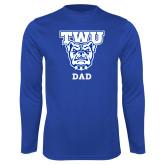Syntrel Performance Royal Longsleeve Shirt-Dad