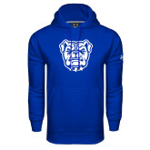 Under Armour Royal Performance Sweats Team Hoodie-Bulldog Head