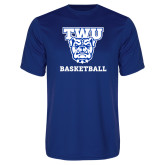 Performance Royal Tee-Basketball