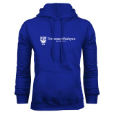 Royal Fleece Hoodie-University Logo Horizontal
