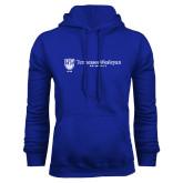 Royal Fleece Hoodie-University Logo Horizontal