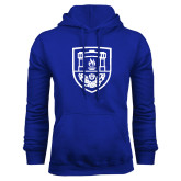 Royal Fleece Hoodie-University Crest