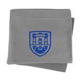 Grey Sweatshirt Blanket-University Crest