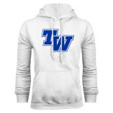 White Fleece Hood-TW