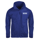Royal Charger Jacket-TWU Bulldogs Stacked w/ Bulldog