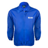 Royal Wind Jacket-TWU Bulldogs Stacked w/ Bulldog