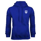 Royal Fleece Hoodie-University Crest