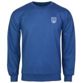 Royal Fleece Crew-University Crest