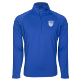 Sport Wick Stretch Royal 1/2 Zip Pullover-University Crest