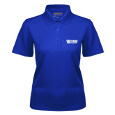 Ladies Royal Dry Mesh Polo-TWU Bulldogs Stacked w/ Bulldog