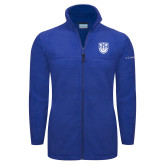 Columbia Full Zip Royal Fleece Jacket-University Crest