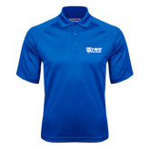 Royal Textured Saddle Shoulder Polo-TWU Bulldogs Stacked w/ Bulldog