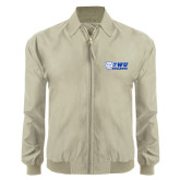 Khaki Players Jacket-TWU Bulldogs Stacked w/ Bulldog