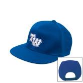 Royal Flat Bill Snapback Hat-TW