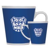 Full Color Latte Mug 12oz-Bulldog Head
